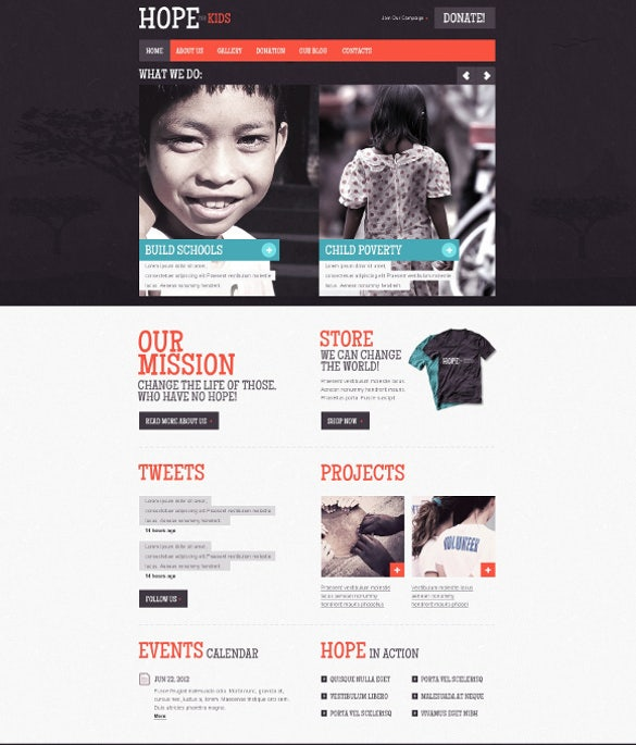 charity joomla for kids1
