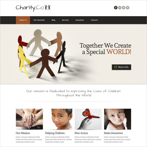 joomla create a special world for charity