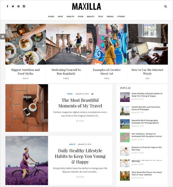 umaxilla magazine wordpress thementitled