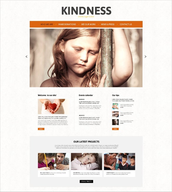 joomla charity organization for child