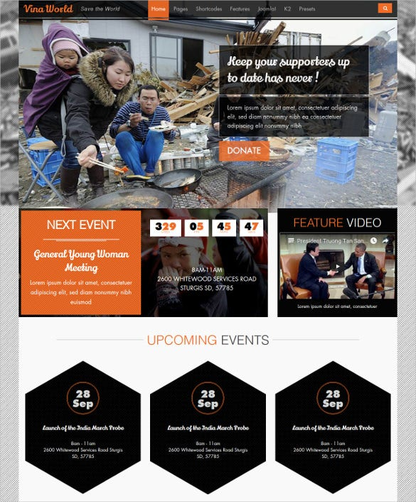 free and non profit joomla charity