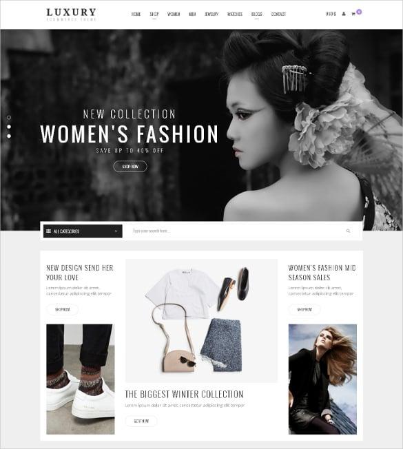 luxury responsive joomla virtuemart theme