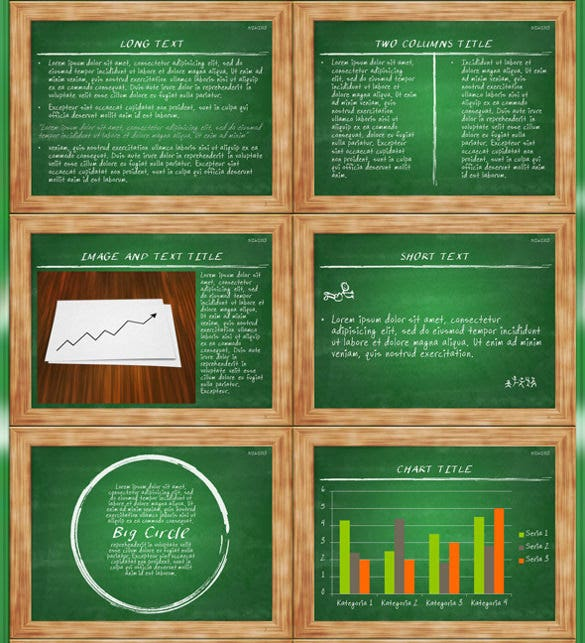 Chalkboard powerpoint template 10 free ppt pptx documents blackboard powerpoint presentation toneelgroepblik Gallery