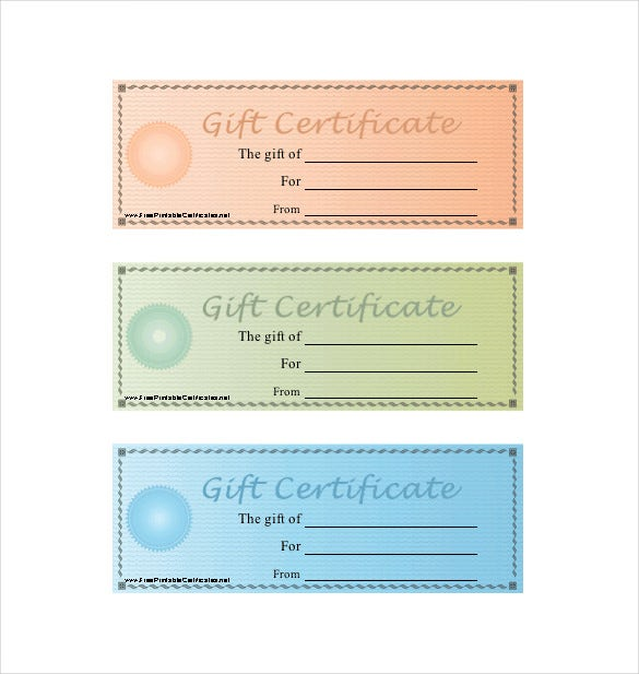 Homemade Gift Certificate Template – 12+ Free Word, PDF Documents ...