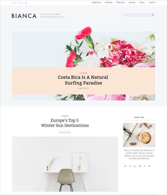 bianca clean blog wordpress theme2