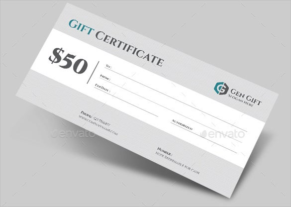 7 email gift certificate templates free sample example for Business gift certificate template