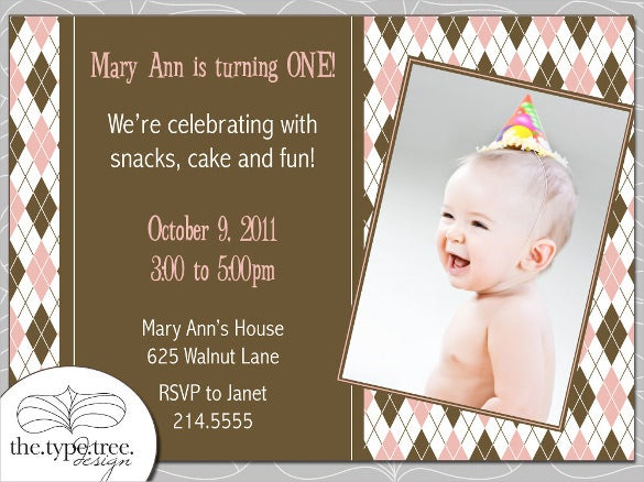 argyle party email birthday invitation pdf printable