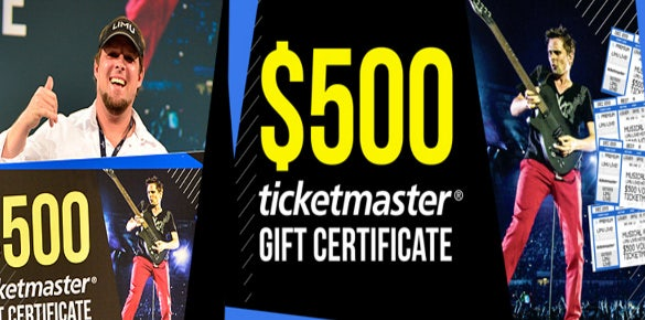 simple ticketmaster gift certificate template
