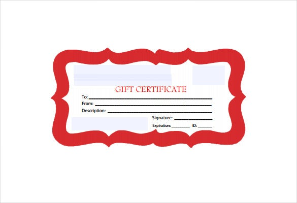 Business gift certificate template 11 free word pdf documents apollostemplates the red bordered gift certificate pdf template free download is a normal business gift certificate template that can be used by any yelopaper Image collections