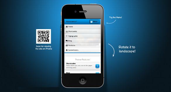 17+ Mobile WordPress Themes & Templates | Free & Premium Templates