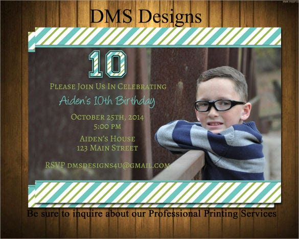 27  teenage birthday invitation templates  u2013 psd  ai