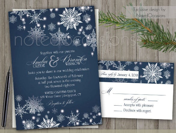 Formal Invitation Template Free Sample Example Format - Wedding invitation templates: silver wedding invitations templates