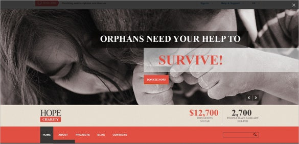 charity blog for helping people template