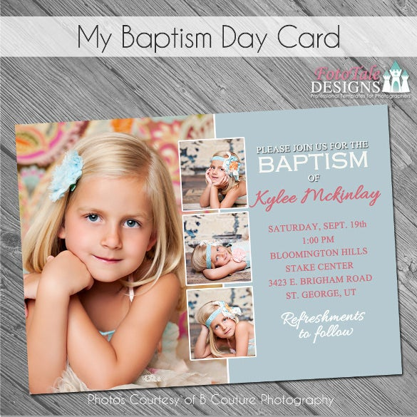 Baptism Day Invitation