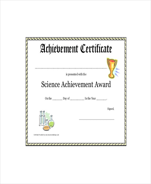 Science-Achievement-Award-Printable-Certificate