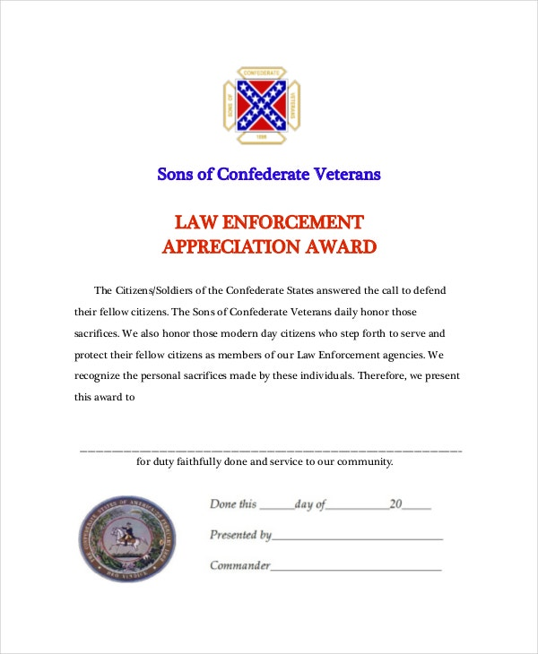 Law-Enforcement-Appreciation-Award