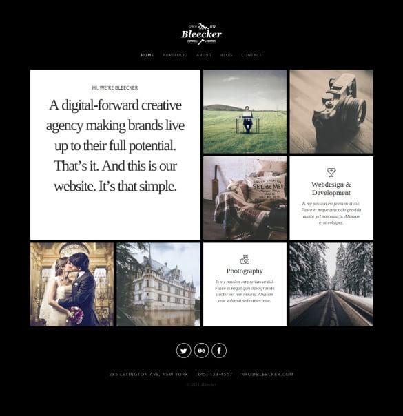 responsive retina ready joomla mobile portfolio theme