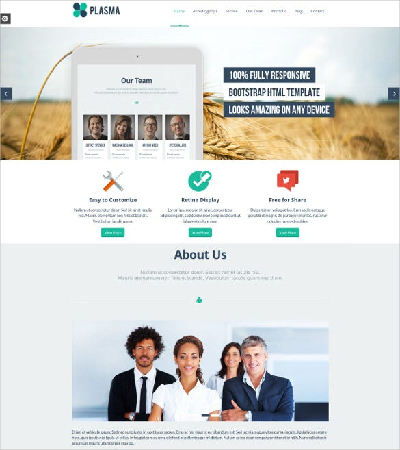plasma multi purpose responsive mobile joomla template