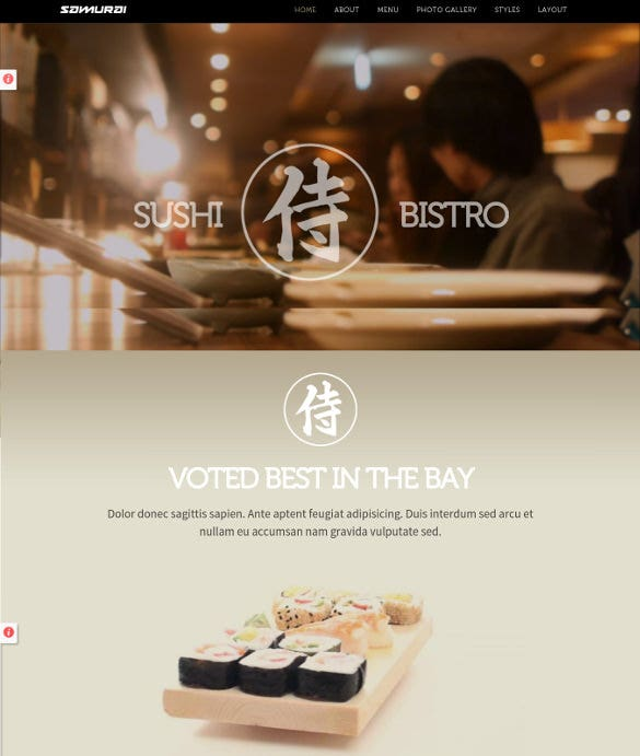 premium restaurant mobile joomla theme