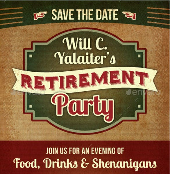 retirement party postcard invitation1