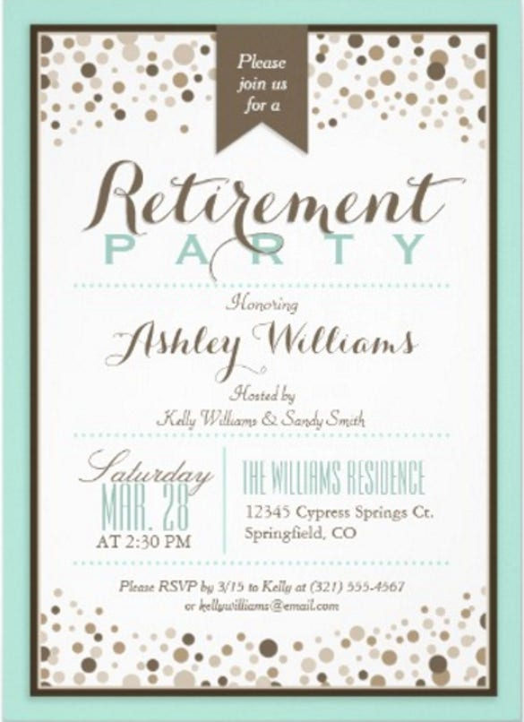 robins egg blue taupe modern retirement party