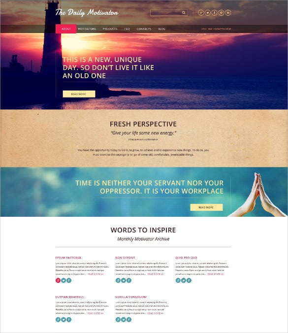 beautiful charity html5 website template