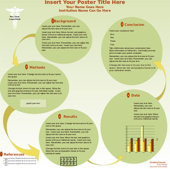 PowerPoint Poster Template 8 Free PPT PPTX Documents Download – Template Poster Free