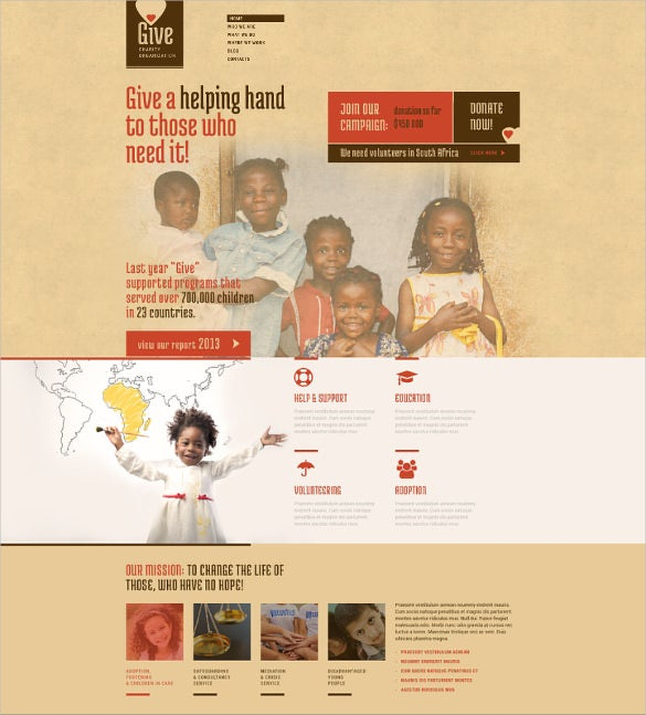 community charity bootstrap wprdprees theme