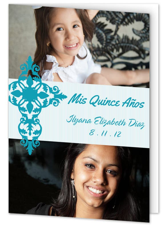 invitation for quince anos celebration