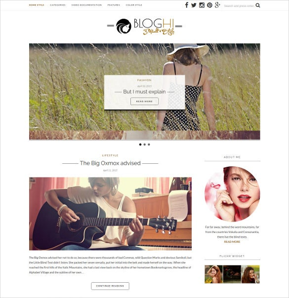 personal blog wordpress mobile theme