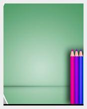Color-School-Pencil-PowerPoint-Template