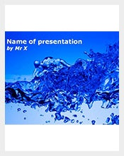 Burst-of-Water-powerpoint-template