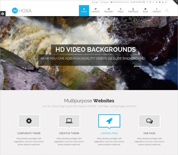 responsive multipurpose html5 mobile template