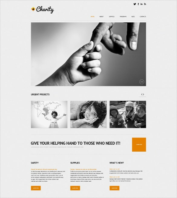 responsive wordpress themeve charity bootstrap