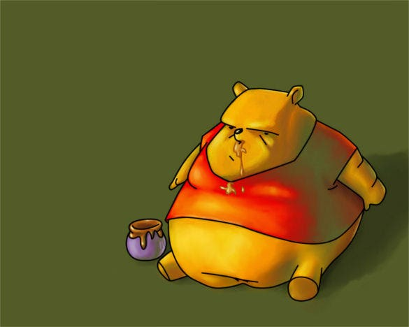 winnie the pooh funny background download