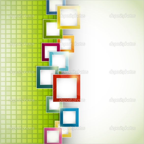 abstract green transparent background template download