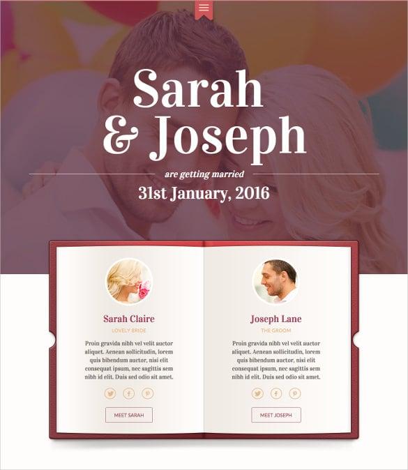 modern wedding mobile wordpress swish theme