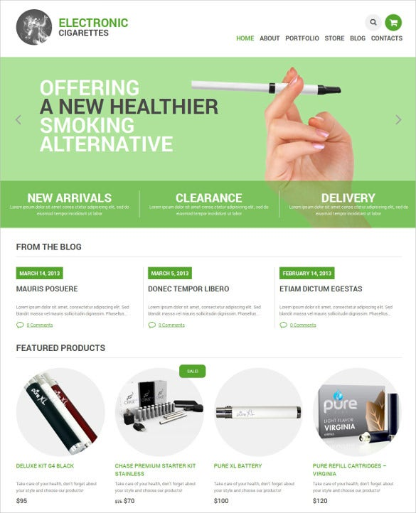 tobacco responsive jigoshop mobile theme