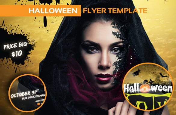 halloween party invitation for girls