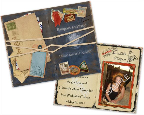 15+ Passport Invitation Templates – Free Sample, Example, Format ...