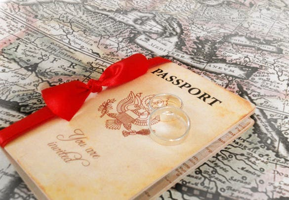16 passport invitation templates free sample example format
