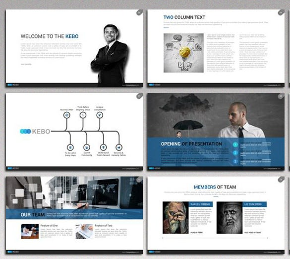 kebo animated powerpoint template