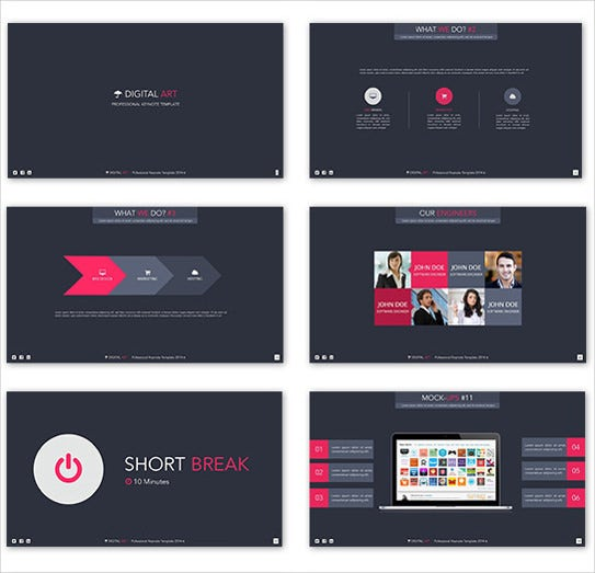 12 animated powerpoint templates free sample example format digital art creative powerpoint template toneelgroepblik