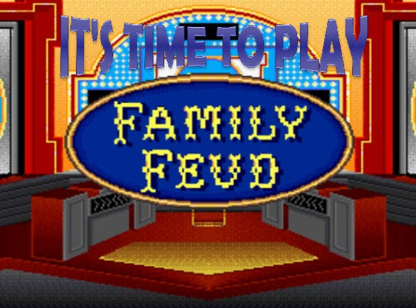 Sample Family Feud Point Template