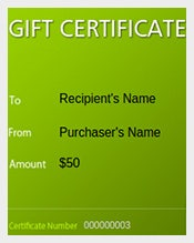 Gift Certificate Template Free Word PDF PSD EPS Documents - Massage gift certificate templates