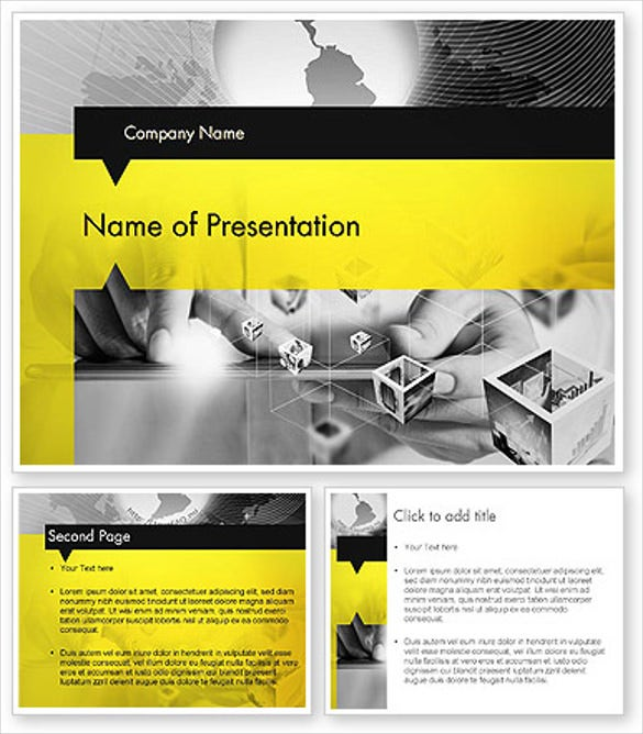 18 business powerpoint templates free sample example format strict and creative business collage powerpoint template wajeb Images