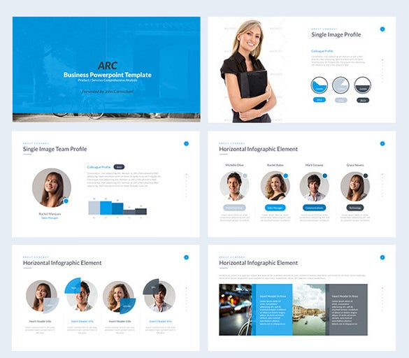 business powerpoint template sample download