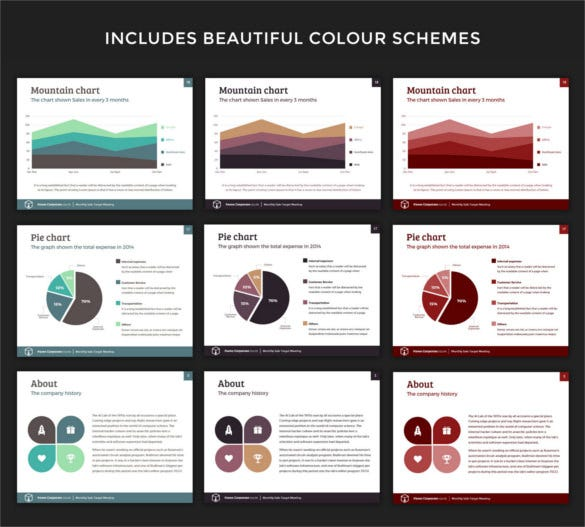 20 business powerpoint templates � free sample example