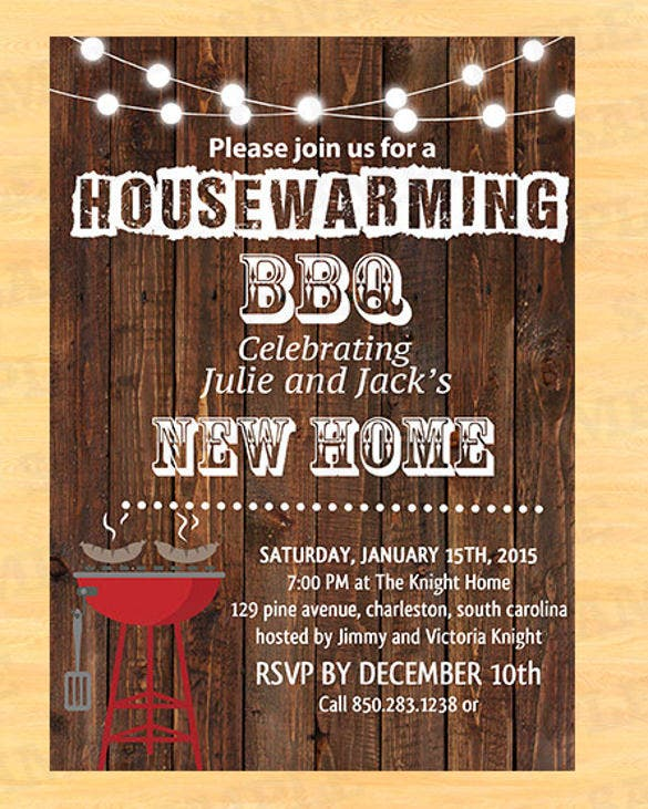 26 housewarming invitation templates free sample What is house warming