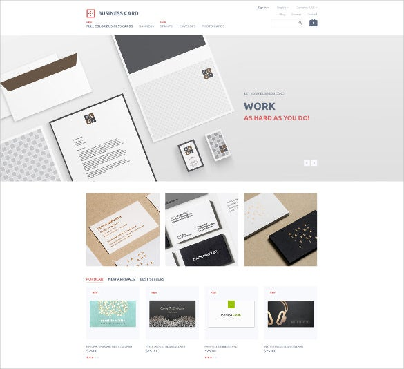 business responsive prestashop mobile theme